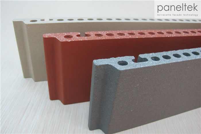 Natural Flat Surface Ceramic Wall Cladding No - Radiation With UV Resistance